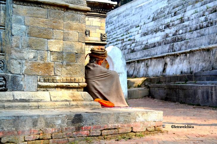 Temple Sadhus